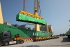 HRSG module being loaded at Ulsan port