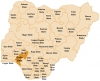 Map of Nigeria's states