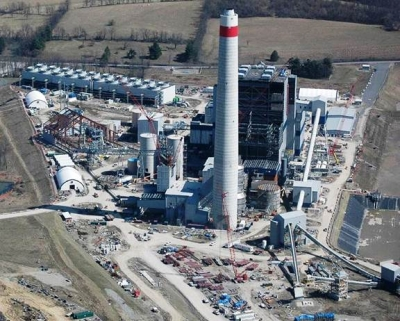 Longview Power Plant (700MW) uses pulverized coal as a fuel