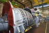 Final assembly of SGT6-8000H gas turbine in Berlin