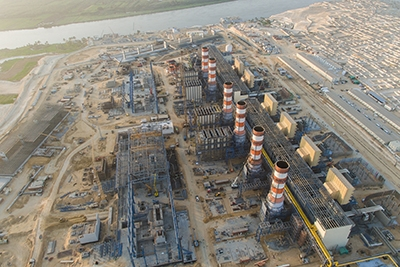 Egypt Megaproject reaches milestone [source: Siemens]