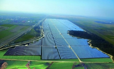 Benban Solar Park covers an area of area of 37.2 km2