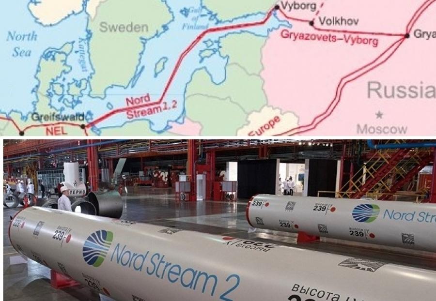 Gazprom, Uniper report Nord Stream-2 is over 34% complete