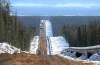 'Power of Siberia' gas pipeline route near Tomsk
