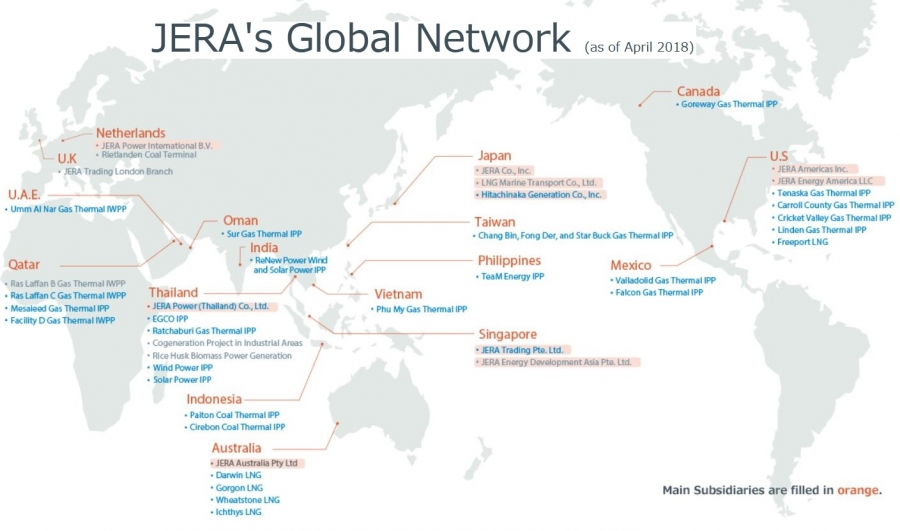 JERA to become Japan's largest power generator from April
